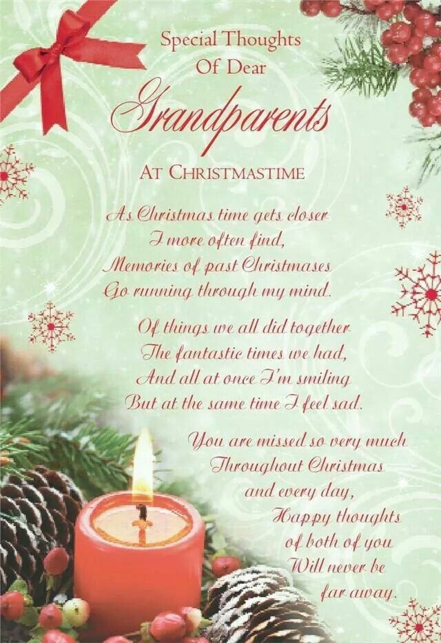 To Grandparents At Christmas Time Grandparents Quotes Christmas Quotes Missing Quotes