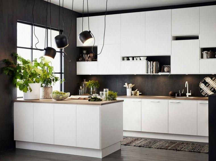 Luminaire suspendu cuisine 50 suspensions design kitchen eclairage cuisine cuisines - Luminaire cuisine design ...