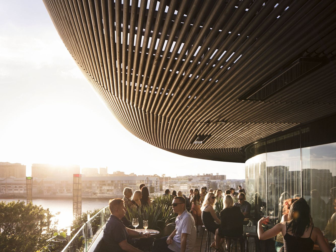 Gallery Of Barangaroo House Collins And Turner 11 Best Rooftop Bars Rooftop Bar Architecture
