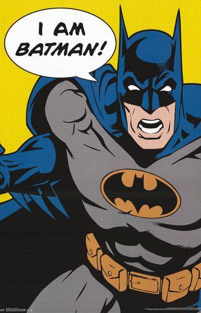 Batman Dc Comics Superhero Poster 22x34 Batman Poster Batman Comic Poster Batman Pop Art