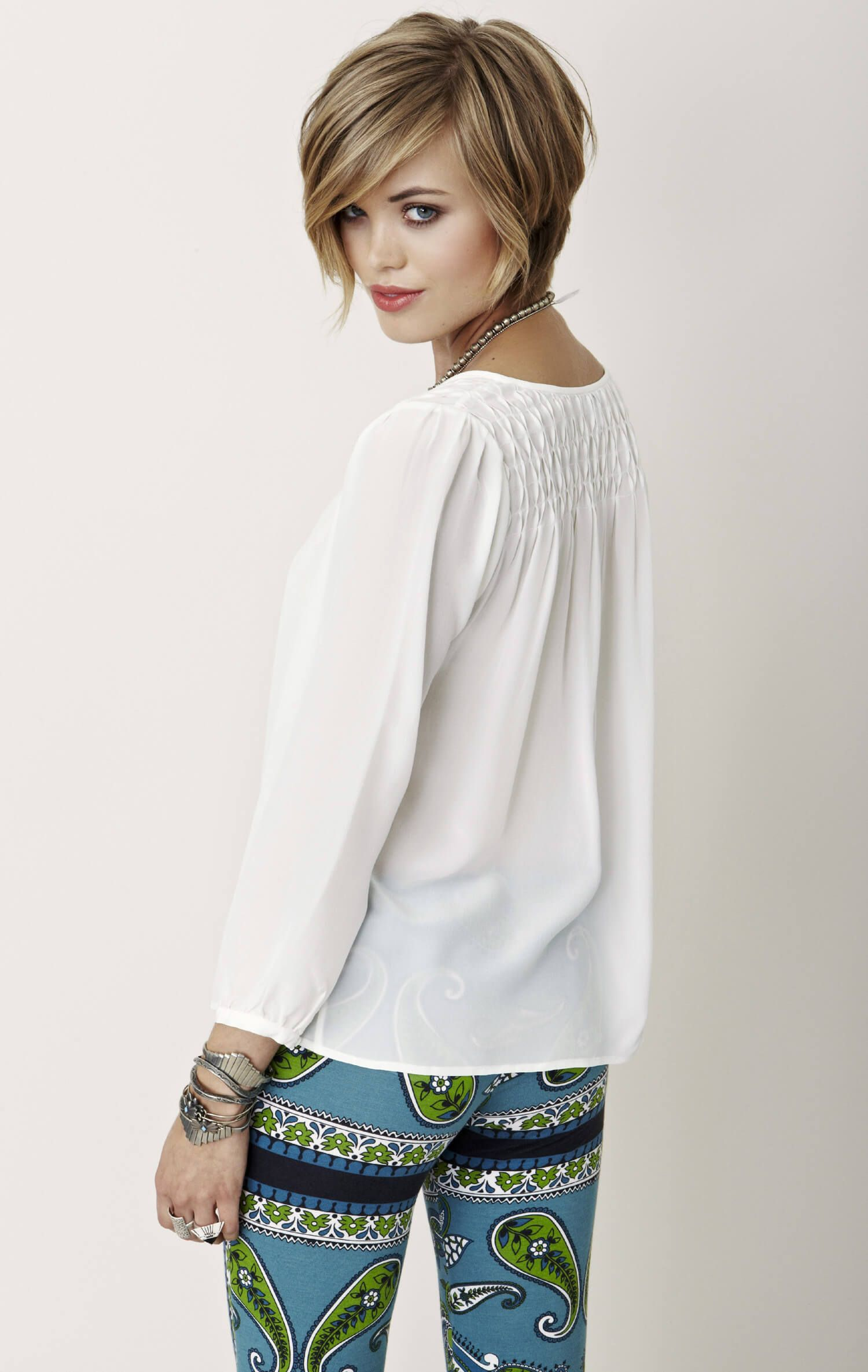 Muna silk blouse in beyond looks for jo pinterest silk