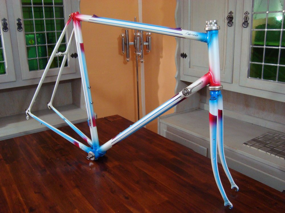 Details zu Cratoni Columbus SL Rennrad vintage Rahmen-59-frame ...