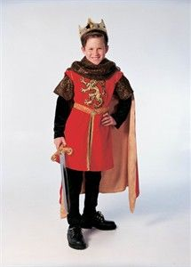 b66909fda06 Child King Arthur Costume | crafts in 2019 | Arthur halloween ...