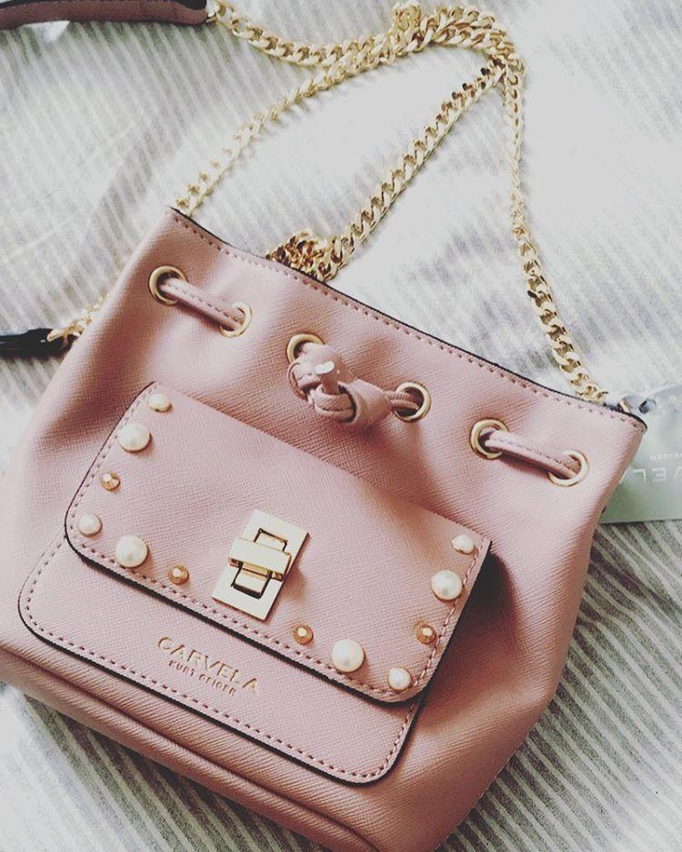 ... Handbags by Kurt Geiger. Emma Gillespie ( egillespie ) Tick off the  trends with Pearl Cross Body from Carvela