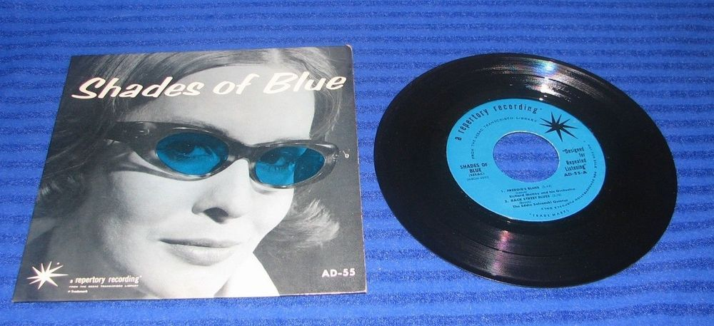 Shades of Blue a repertory recording  AD-55 Sesac Recordings  7'  45 Various OOP