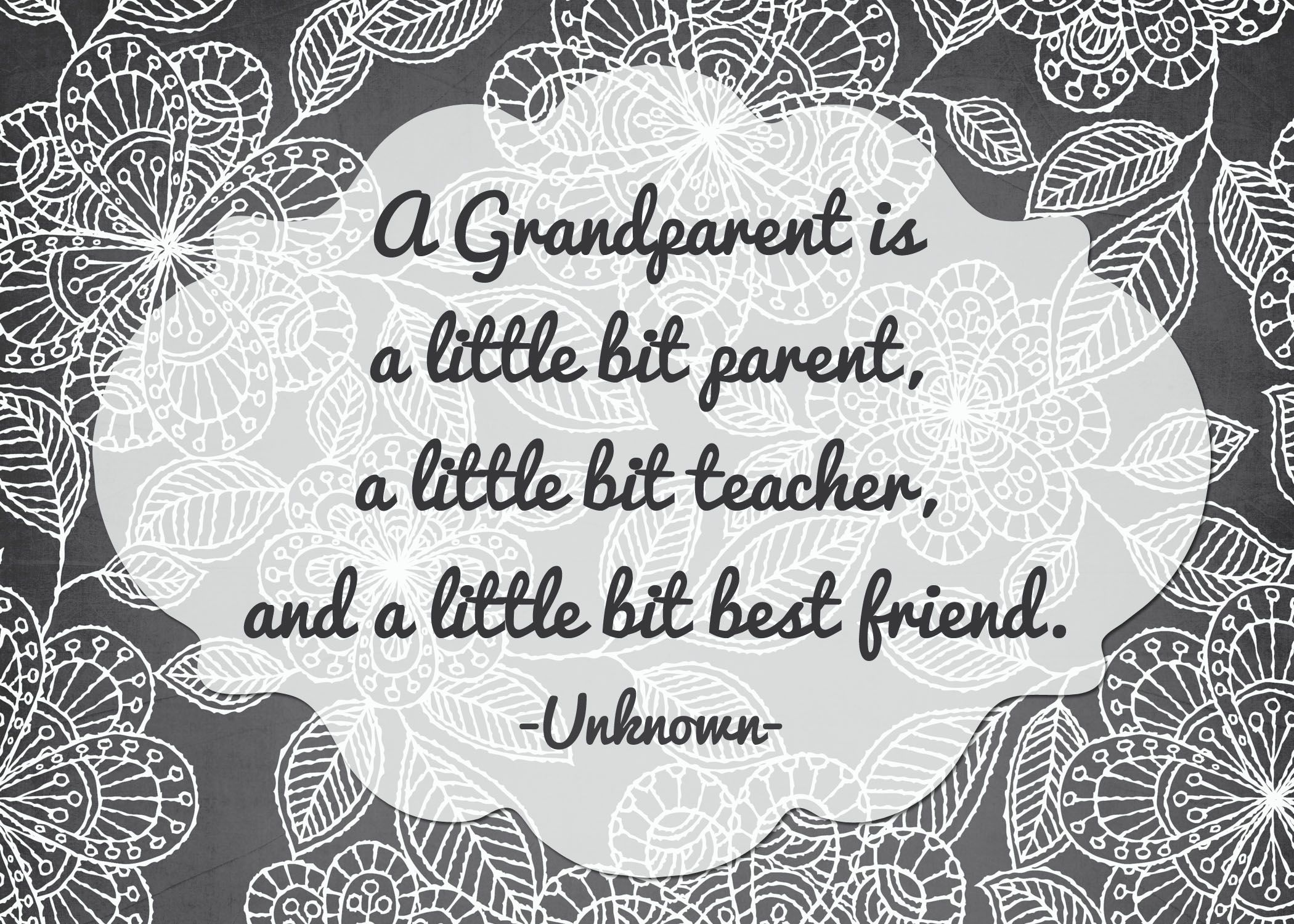 Grandparents Prints Grandparents quotes, Grandparents