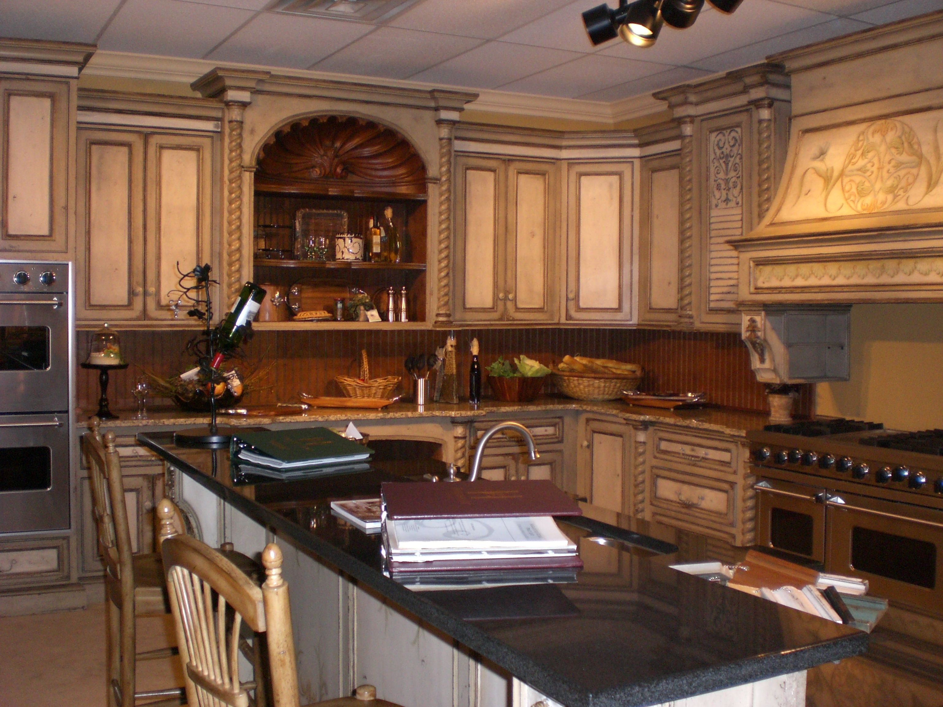 dream kitchens pictures   This kitchen by Habersham is only half the ...