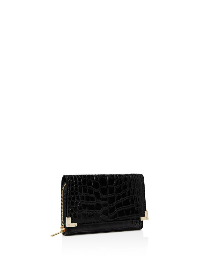 e246409721 The Kooples Croc-Embossed Leather Wallet | Current Style in 2018 ...