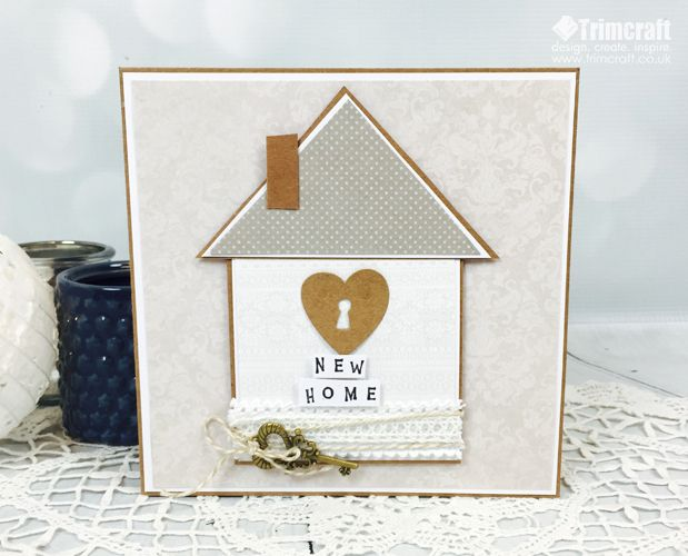 New Home Cards Inspiration Tutorials With Free Printable Template New Home Cards Housewarming Card Welcome Home Cards
