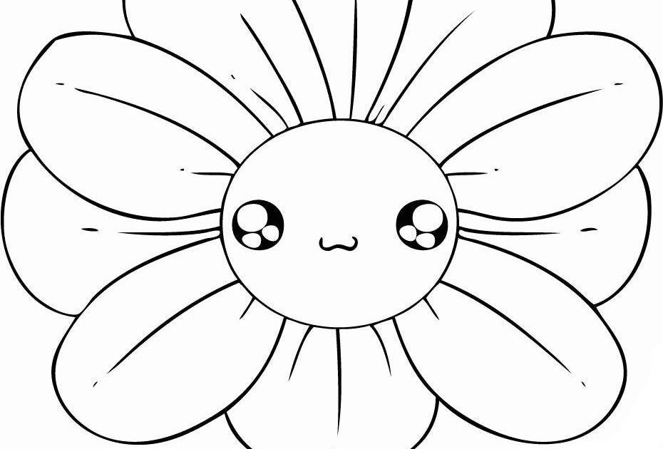 Gambar Bunga Anak Tk 20 Gambar Mewarnai Bunga Untuk Anak Paud Dan Tk Mewarnai Gambar Bunga Bagi Anak Anak Tentunya Mengasyikan Da Gambar Bunga Gambar Bunga