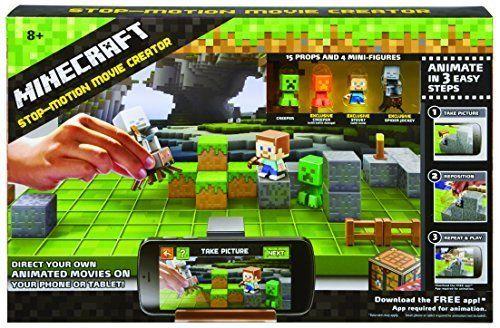 Minecraft Stop-Motion Animation Studio #Mattel