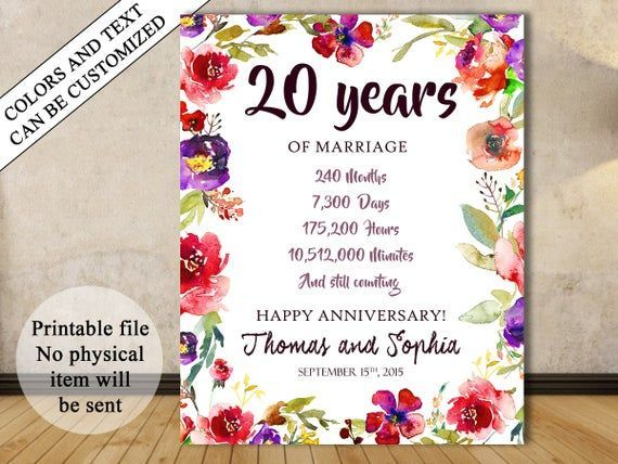 20th Anniversary Sign, 20th Anniversary Gift Poster, Twentieth 20th Anniversary Chalkboard, 20th year Wedding Anniversary, Numbers #20thanniversarywedding 20th Anniversary Sign, 20th Anniversary Gift Poster, Twentieth 20th Anniversary Chalkboard, 20th yea #20thanniversarywedding