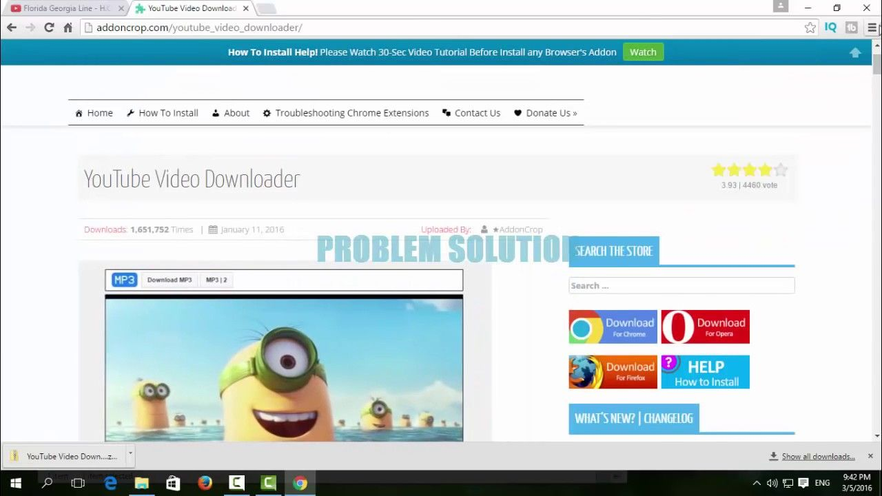 How to download youtube video from google chrome 2017 online how to download youtube video from google chrome 2017 online tutrials ccuart Images