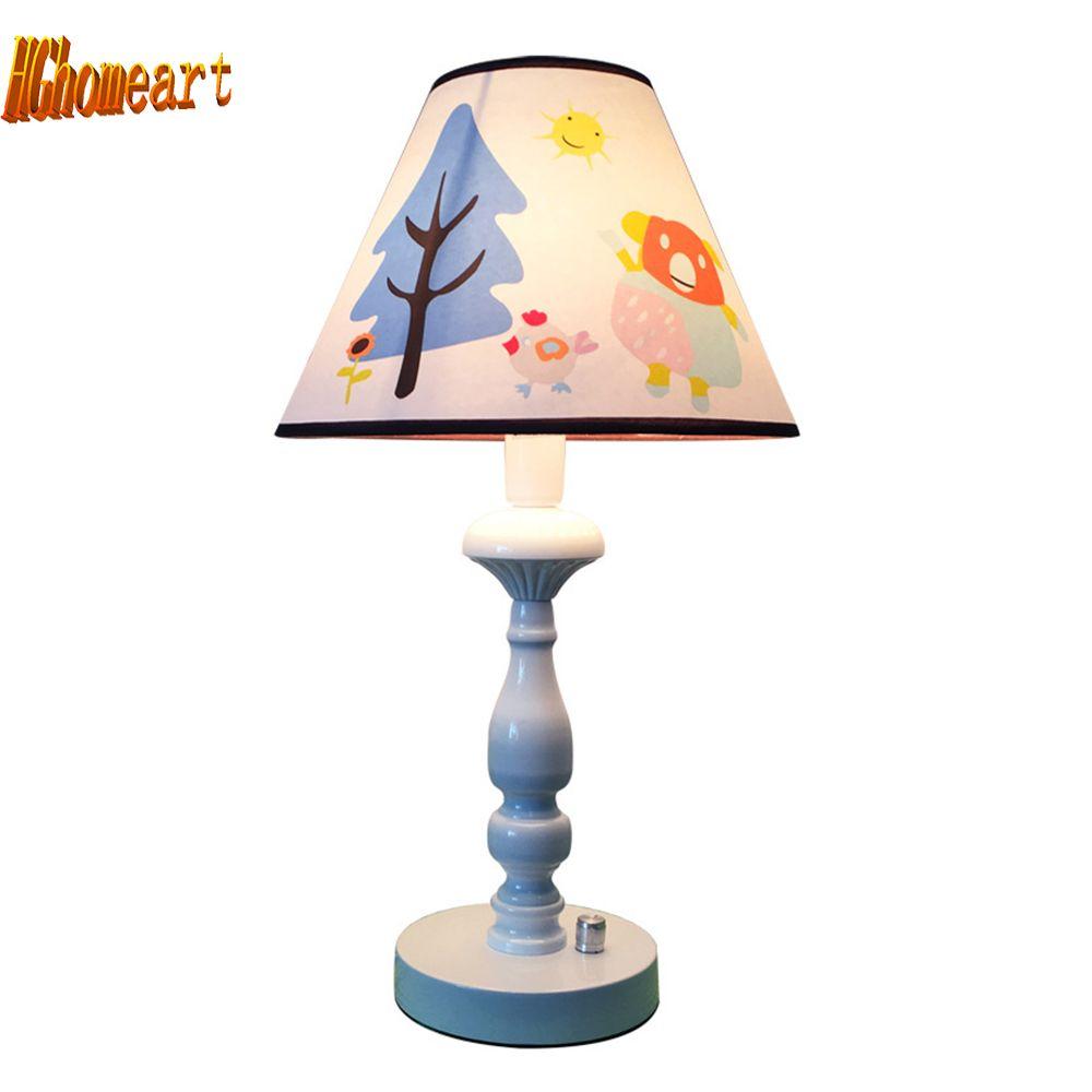 Hghomeart Pink Desk Lamp Led E27 Light Bulb Home Lighting Kids
