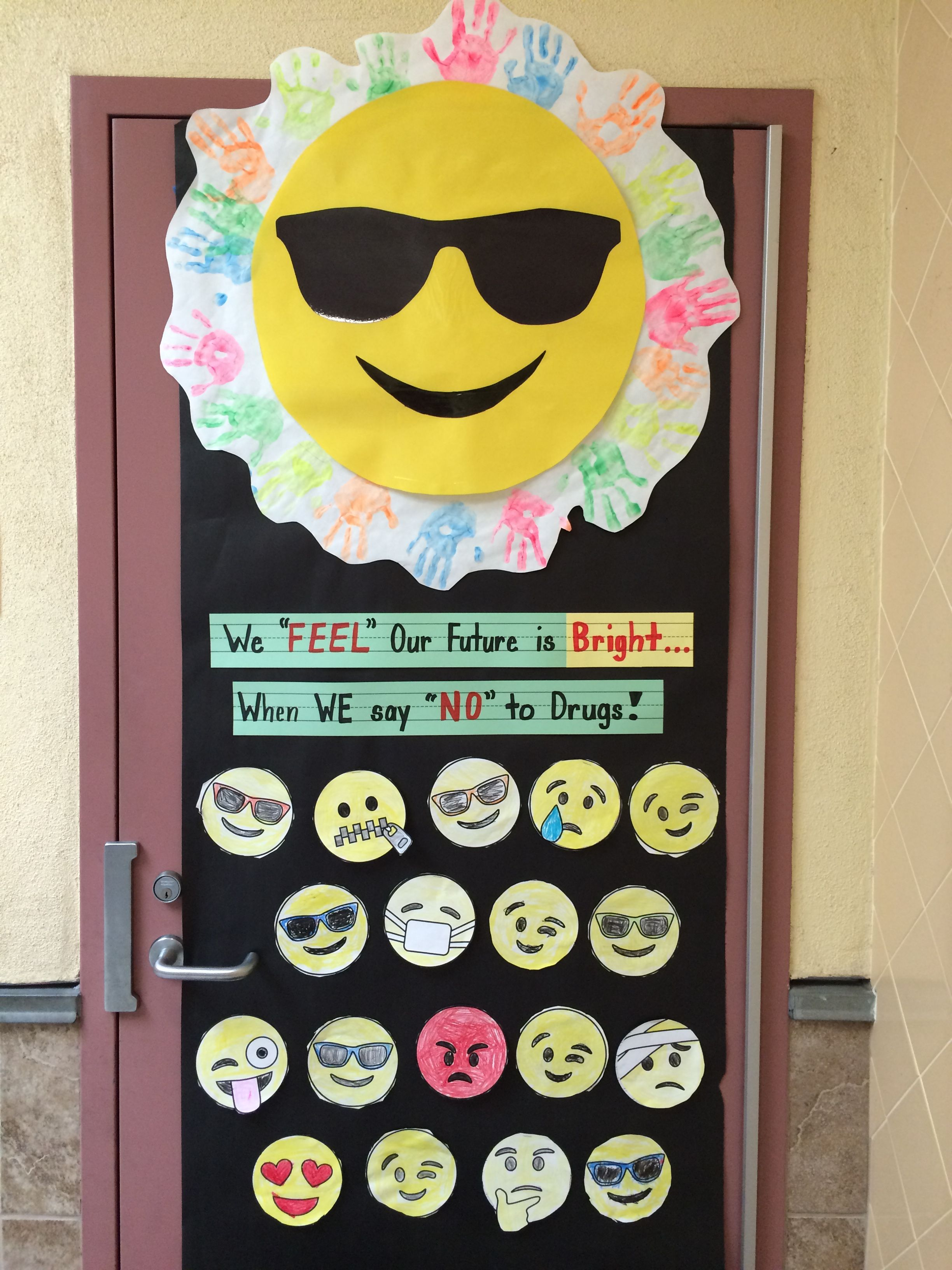 Red Ribbon Week Emoji Style Kids Write About How They Feel About Making Unhealthy Choices Red Ribbon Week Drug Free Door Decorations Red Ribbon [ 3264 x 2448 Pixel ]