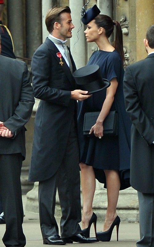 Beckham In Kate William Wedding 3