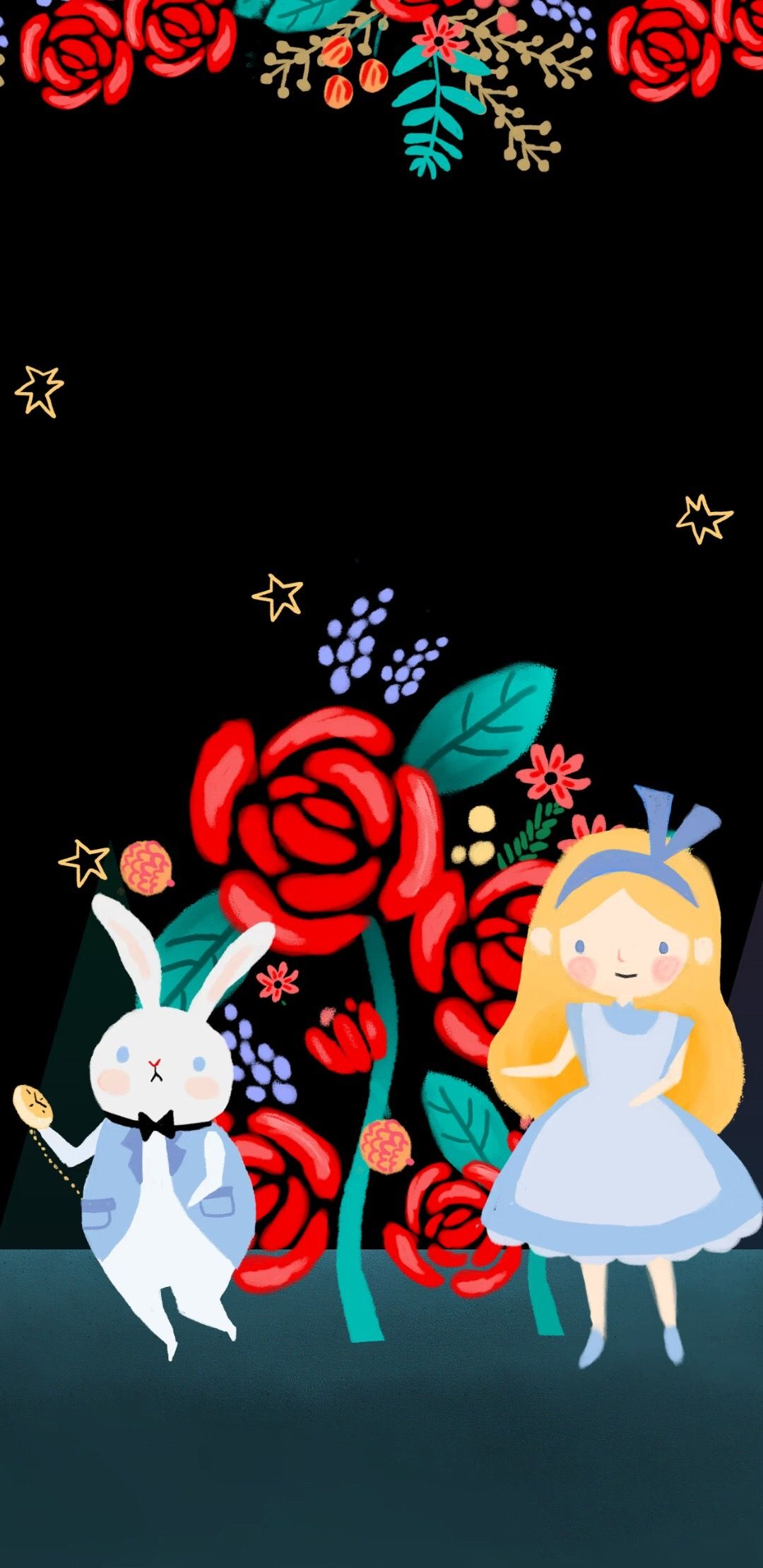 Alice In Wonderland Wallpaper By Dajeong Kim Backgrounds Phone