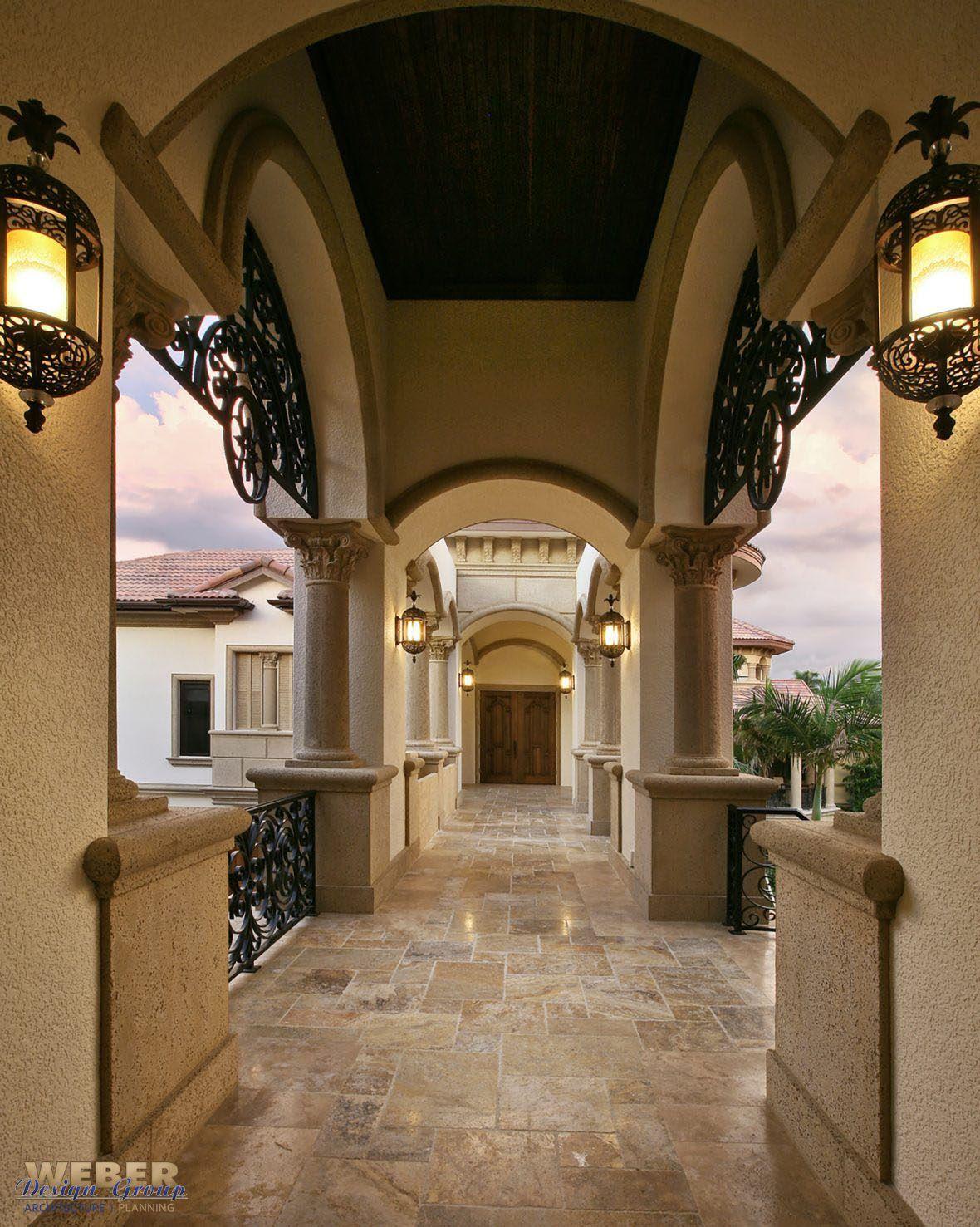 Photo of Mediteranean Beachfront Luxury Home Design – Weber Design Group, Inc. – Naples & Palm Beach, FL Architects