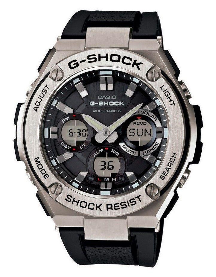 Casio G-Shock G-steel horloge GST-W110-1AER. Dit horloge is voorzien ...
