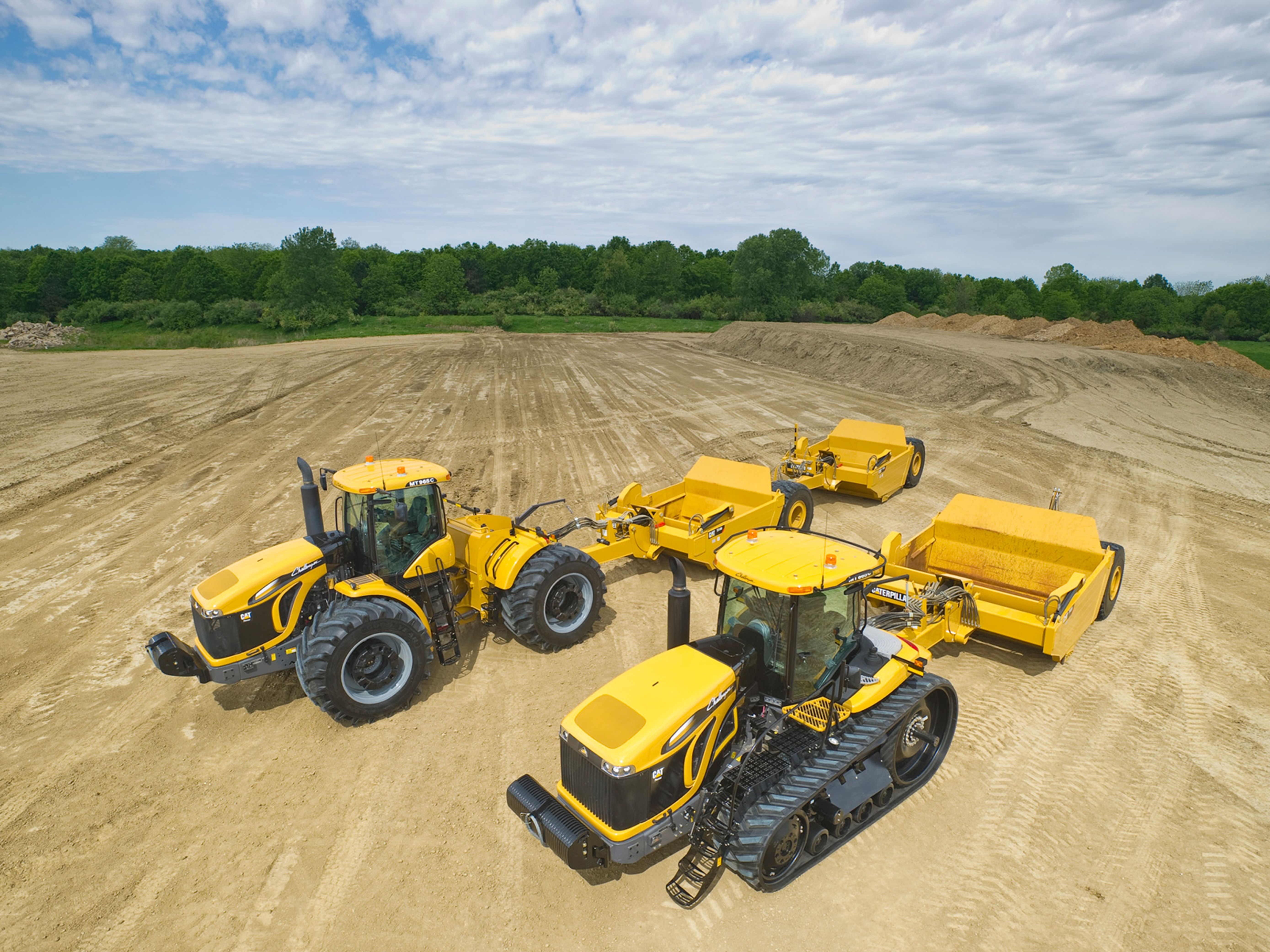 With access to the full line of over 300 Cat machines, the