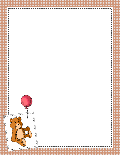 pin by muse printables on page borders and border clip art teddy