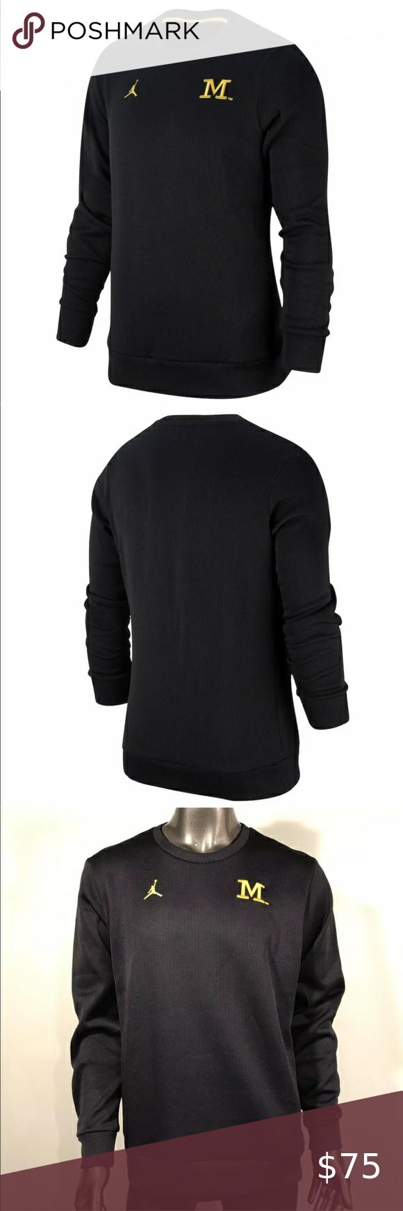 Michigan Wolverines Crew Xl Heavy Sweatshirt Heavy Sweatshirts Sweatshirts Sweatshirt Shirt [ 1740 x 580 Pixel ]