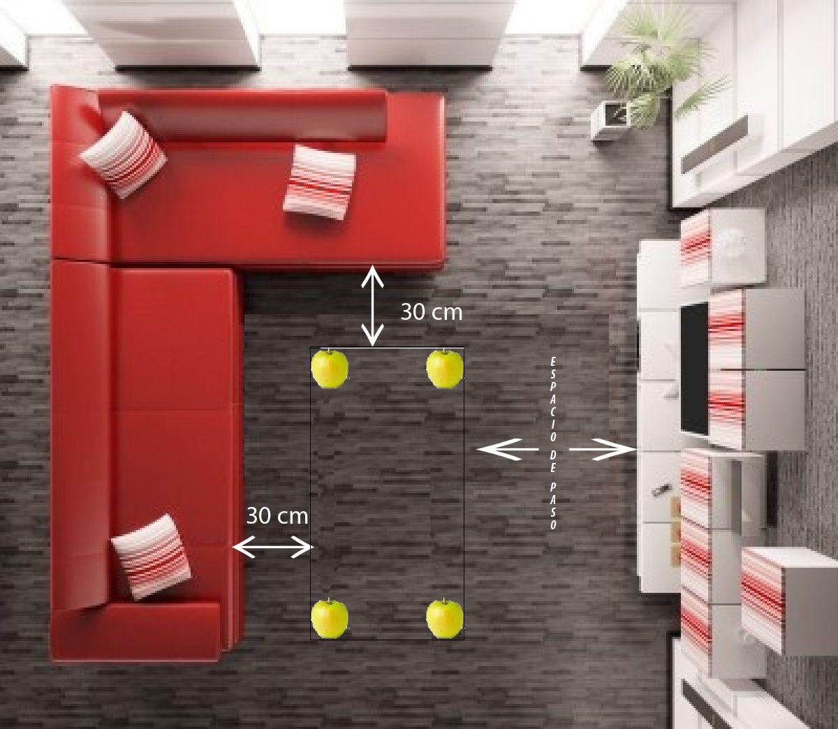 Mesa camilla rectangular - cómo calcular su tamaño ideal ...