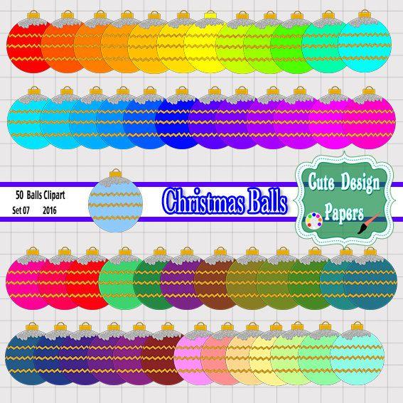 Navidad Adornos, Esferas Navideñas, Azul, Amarillo, Rojo, Verde, Morado, Esferas de colores, Navidad de colores, Esferas coloridas de CuteDesignPapers en Etsy