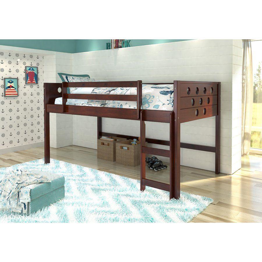 Under loft bed lighting ideas  Lit simple mezzanine Circles  nouvelle chambre de petit loup