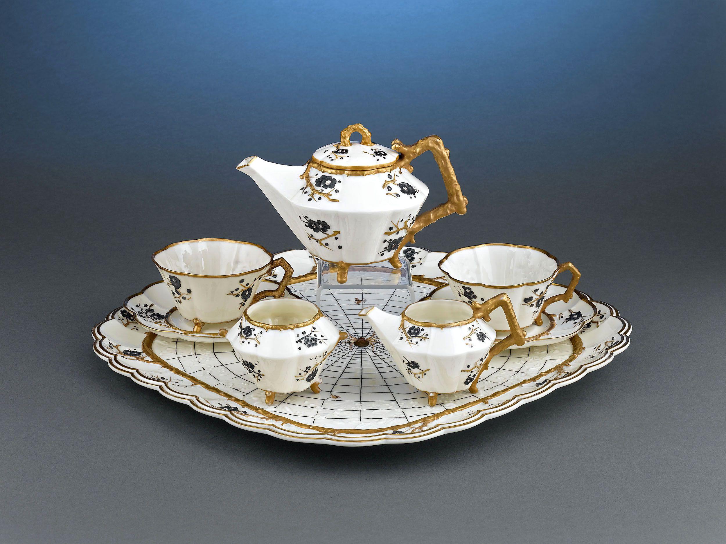 Antique Porcelain, Antique Tea Sets, Belleek Tea Sets ~ M.S. Rau Antiques
