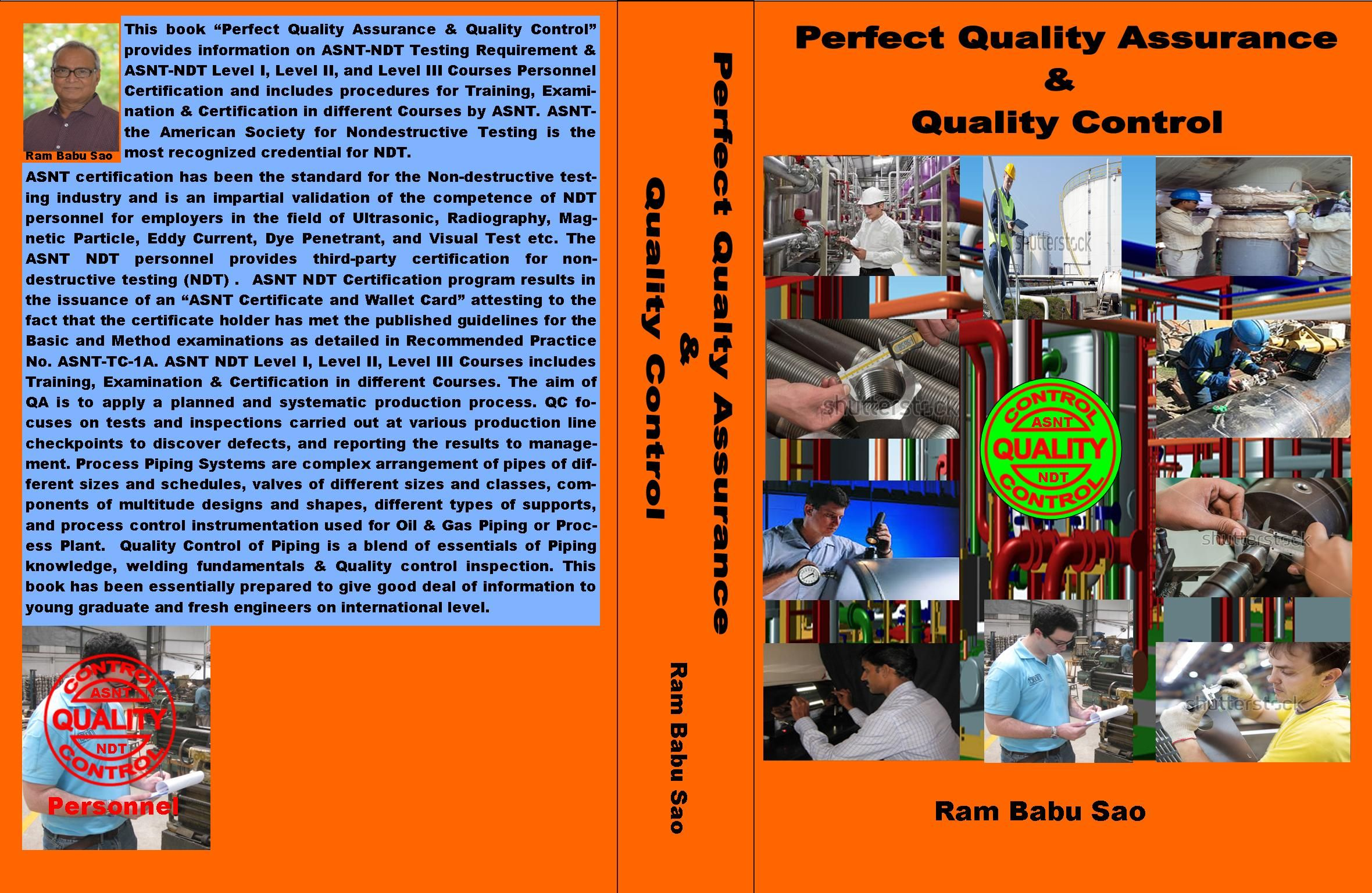 """This book provides """"ASNT-NDT"""" Testing Requirement; Personnel ASNT ..."""