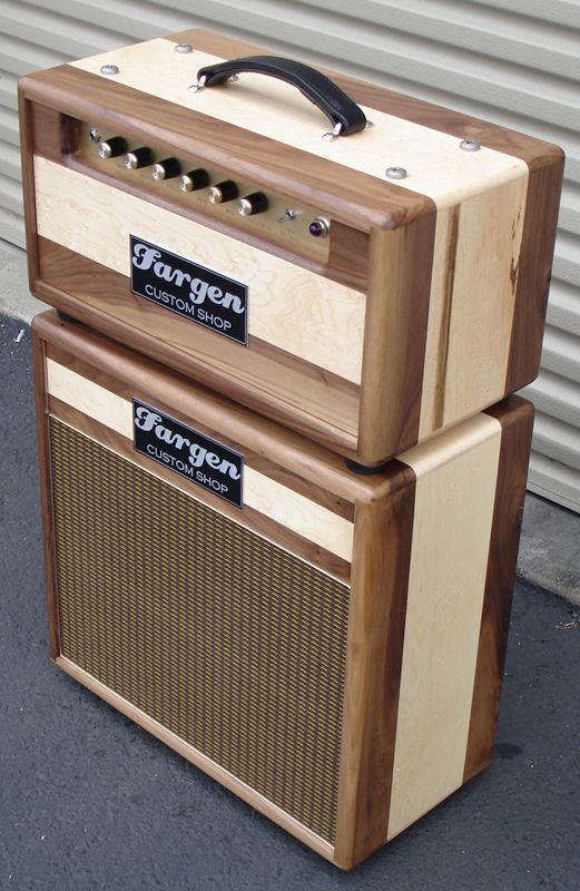 fargen custom shop plexi clone amp in walnut guitar amps bass amps guitar cabinet guitar rig. Black Bedroom Furniture Sets. Home Design Ideas