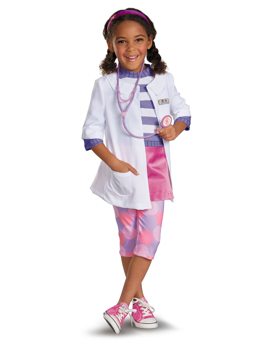 doc mcstuffins girls costume from spirit halloween on catalog spree my personal digital mall my daughter absolutely loves doc - Doc Mcstuffins Halloween Bag