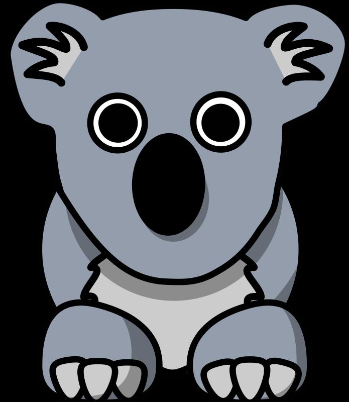 Free Cartoon Koala Koala Bear Images Animals