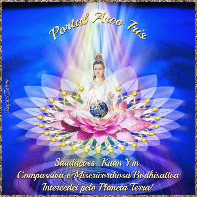 Resultado de imagem para kuan yin IMAGEM DA GUERREIRA DO ÁGUIA PORTAL ARCO IRIS