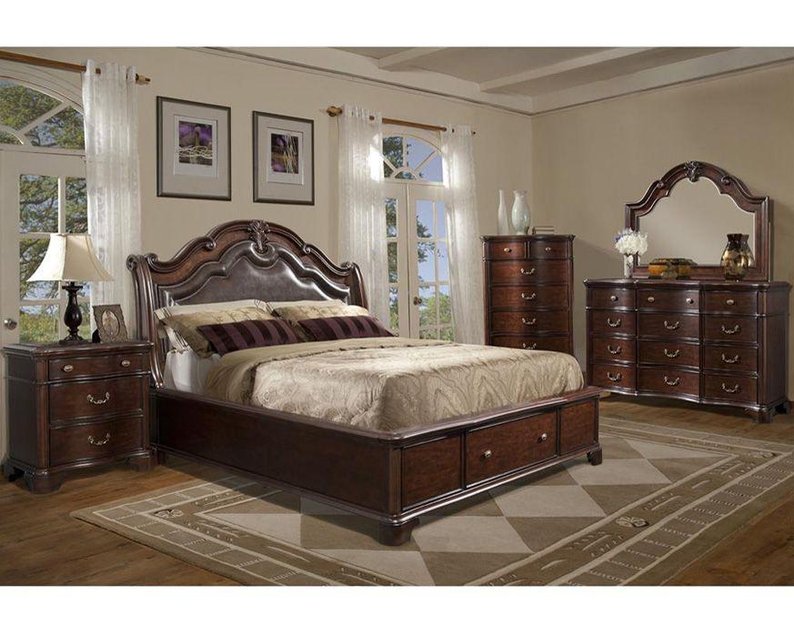 Queen Bedroom Set Tb600 Qbs Tabasco Furniture Factory Direct Queen