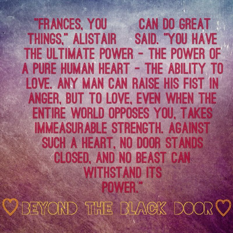 The power of a pure human heart quote from the Children's