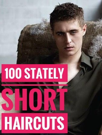 100 Stately Short Haircuts for Men #hair #hairstyle #menhair #menhairstyle #menhaircut #manhair #menhairstyles #menhaircut  #besthairstyles #besthair  #menbeauty #beautymen #2019hairstyle