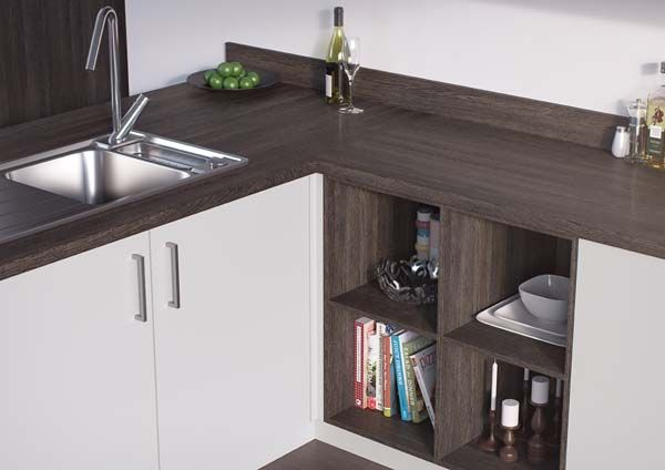 the mali wenge #kitchen worktop complements both traditional and