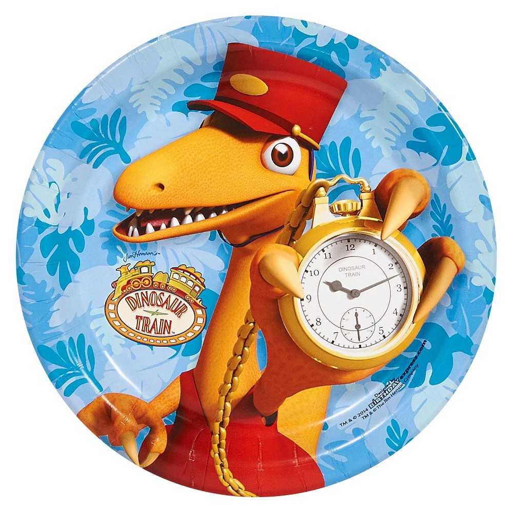 8ct Dinosaur Train Dessert Plate  sc 1 st  Pinterest & Dinosaur Train Paper Dessert Plate - 8 count | Dinosaur train and ...