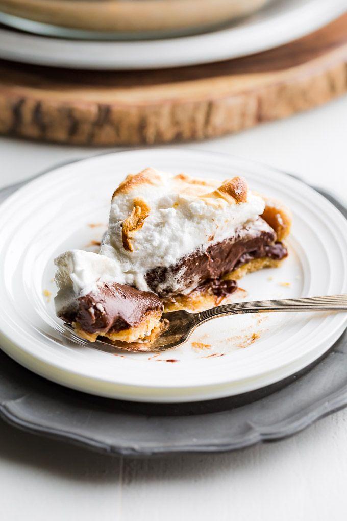 Paleo S Mores Pudding Pie Recipe Healthy Dessert Recipes