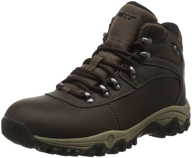 Hi-Tec Fugitive Waterproof, Zapatillas de Deporte Exterior para Hombre, Marrón (Smokey Brown 042), 44 EU
