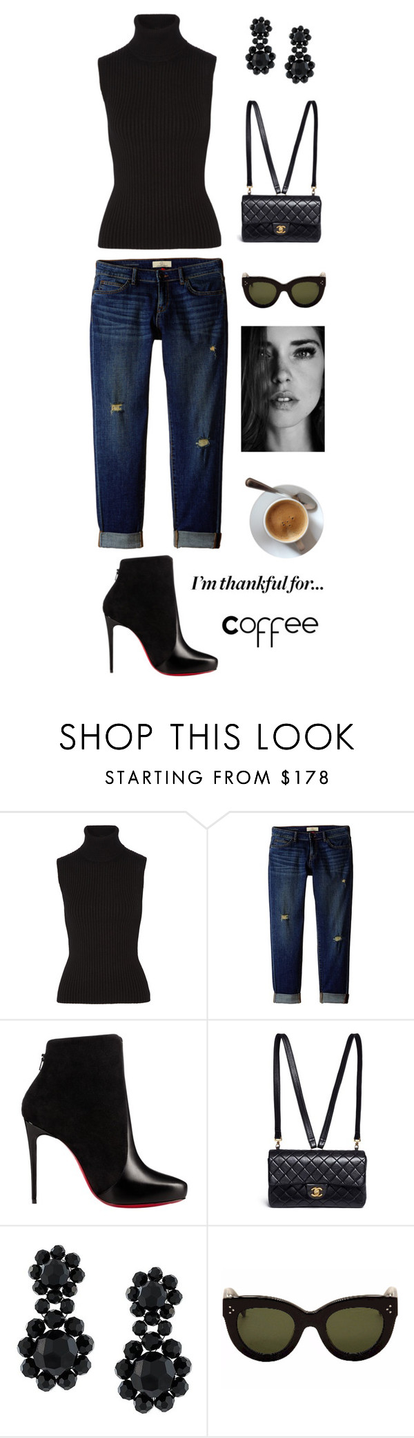 """""""Untitled #331"""" by maylamartha ❤ liked on Polyvore featuring Michael Kors, CJ by Cookie Johnson, Christian Louboutin, Chanel, Simone Rocha, CÉLINE and imthankfulfor"""