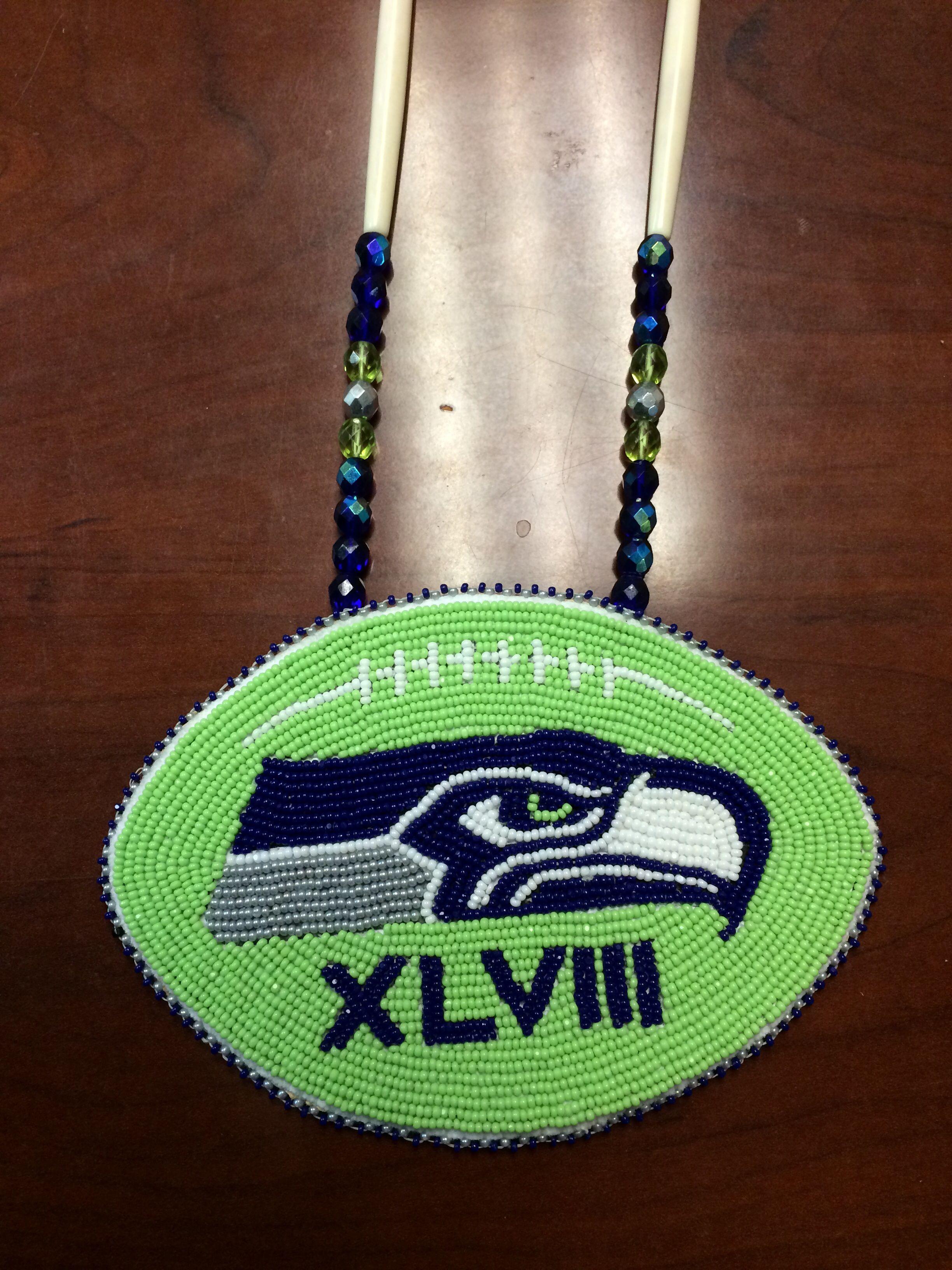 Seattle Seahawks medallion