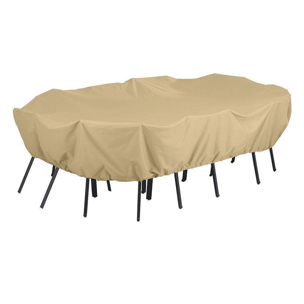 Classic accessories outdoor terrazzo xlarge rectangular or oval