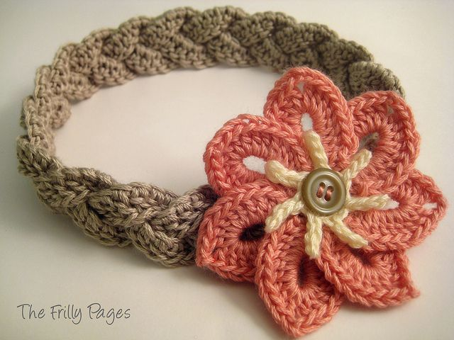 Such a beautiful flower love this crochet headband crochet such a beautiful flower love this crochet headband mightylinksfo