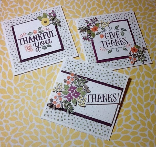 Thankful Forest Friends stamp set. Orders yours September 2nd at http://www.lyndaemerson.stampinup.net