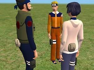 Mod The Sims Kunai Shuriken Pouches From Naruto Shuriken Kunai Naruto