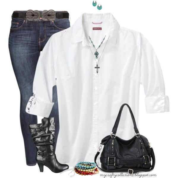 Women's Plus-size Outfit: Rhinestone Knot Belt, created by angiejane on Polyvore