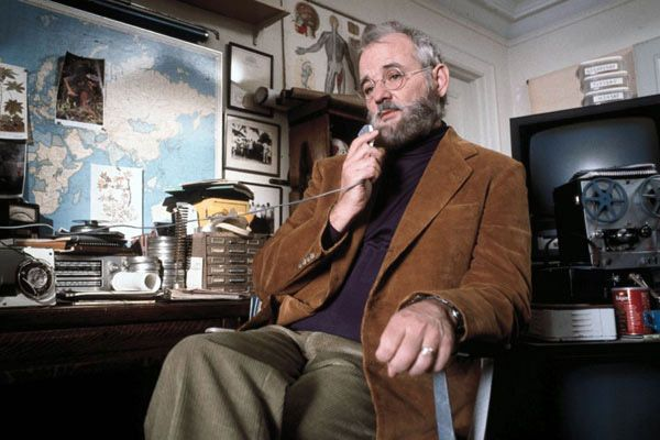 "Raleigh St. Clair (Bill Murray) from the Royal Tenenbaums:   Medical Student: ""Can the boy tell time?""   Raleigh: ""Oh, my Lord, no!"""